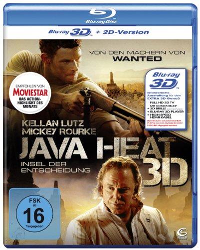 Java Heat - Insel der Entscheidung 3D (+ 2D-Version) [Blu-ray 3D]