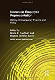 img - for Nonunion Employee Representation: History, Contemporary Practice and Policy (Issues in Work and Human Resources) book / textbook / text book