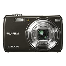 51a57QCH48L. SL500 AA280  Fujifilm FinePix F200EXR 12MP Super CCD Digital Camera   $400 Shipped