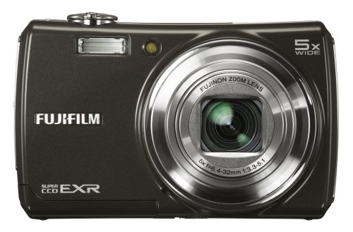 Fujifilm FinePix F200EXR 12MP Super CCD Digital Camera with 5x Wide Angle Dual Image Stabilized Optical Zoom