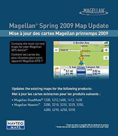 Magellan 2009 One-Time U.S. Map Update for Magellan GPS Navigators (SD Card)