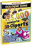 125.000 Animierte 3D-Cliparts (DVD-ROM)