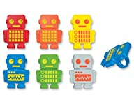 DecoPac Robot Party Cupcake Rings (12…