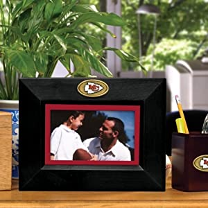 Kansas City Chiefs Memory Company Landscape Picture Frame NFL Football Fan Shop... by Memory Company