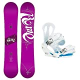 Rome Vinyl and Citizen Ladies Snowboard and Binding Package 2014 by Rome
