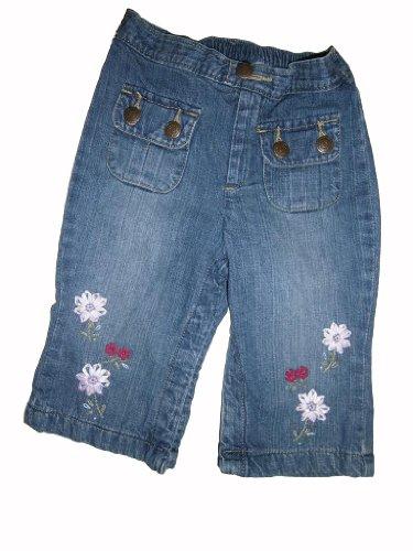 baby-gap-leicht-verwaschene-jeans-leicht-gefuttert-mit-aufwandiger-blumenstickerei-gummizug-gr-ca-62