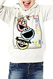 Cotton Rich Sesame Street Hooded Top [T88-0565C-S]