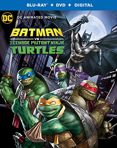 Blu-ray : Batman Vs Teenage Mutant Ninja Turtles (2 Discos)