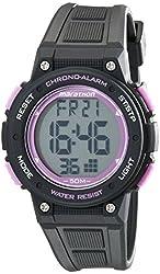 Timex Unisex TW5K84700M6 Marathon Digital Display Quartz Black Watch