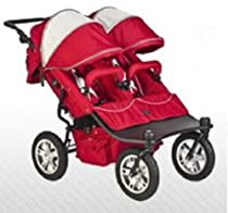Hot Sale Valco Baby CANDY APPLE EX Twin Tri-Mode Double Stroller..