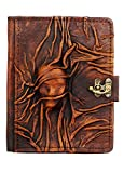 Embossed Scarfed Woman Middle Kindle Fire HD Kindle Keyboard Case Cover Vintage Leather Hardcover Wallet Pouch Cases Covers Lock Brown Suitable for Samsung Galaxy Tab 2 7.0 P1000 Kobo Aura HD Kobo H2O Kobo Arc Kobo eReader Wireless