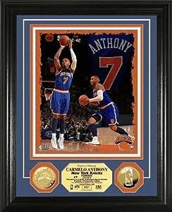 NBA New York Knicks Carmelo Anthony 24KT Gold Coin Photo Mint by Highland Mint