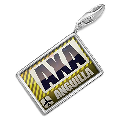 neonblond-airportcode-axa-anguilla-charm-lobster-clasp-clip-on