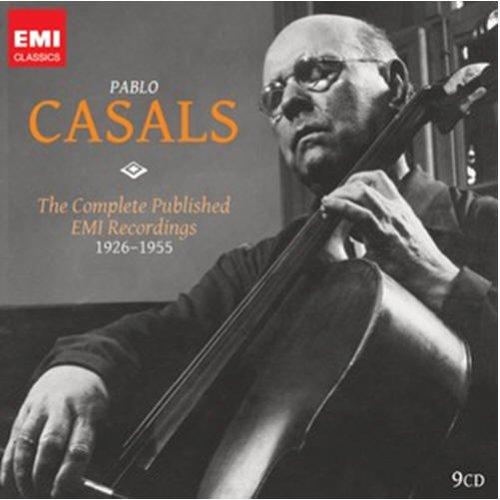 輸入盤パブロ・カザルスEMI全録音 Complete Published EMI Rcordings 1926-55(9枚組)のAmazonの商品頁を開く