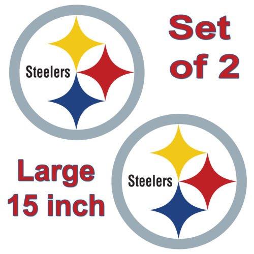 Pittsburgh Steelers Cornhole Board Decals 15