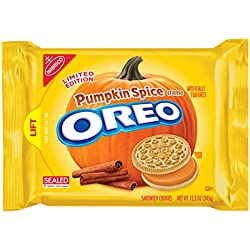 Oreo Seasonal Pumpkin Spice Sandwich Cookies, 12.2 Ounce