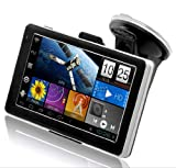 CyberNav Mini 2 - Android 4.0 ICS Tablet Navegador GPS con 5 pulgadas de pantalla táctil WIFI (1.2 GHz CPU, 512 MB de RAM, 8 GB, software de mapas de Europa incluido)