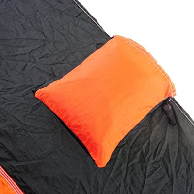 Portable Nylon Fabric Travel Camping Hammock for Double Two Person with Free Pen