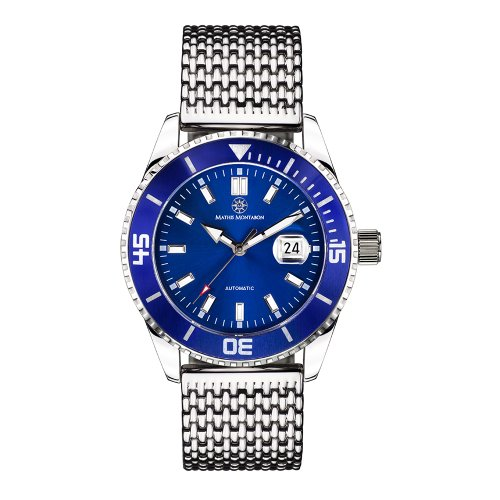 Mathis Montabon Montre Homme Super Atlantique bleu MM-10