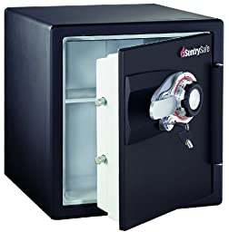 SentrySafe DS3410 Black Fire-Safe 1.2-Cubic Foot Combination Safe
