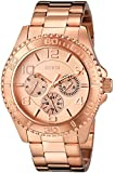 GUESS Women's U0231L4 Multi-Function Sporty Rose Gold-Tone Watch
