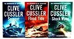 Clive Cussler 3 books Collection Set...
