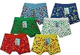 6 | 12 Stück Kinder Jungen Boxershorts Unterhosen Kids Unterwäsche Baumwolle 92-122 (98-104, Bunt 6 Stück)