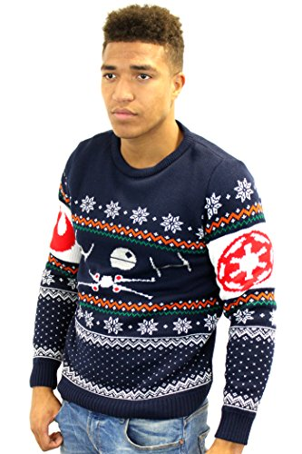 Official-Star-Wars-Tie-Fighter-Vs-X-wing-Christmas-Jumper