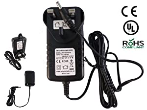 Adaptors4U Replacement 12V DC 500mA Mains AC Adaptor Power Supply RKBSDC1200500 for Pure