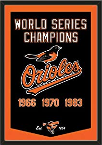 Dynasty Banner Of Baltimore Orioles-Framed Awesome & Beautiful-Must For A... by Art and More, Davenport, IA