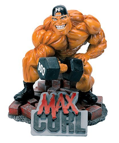 New MAX Curl Xtreme Figurine Bodybuilding Weightlifting Collectible Statue by Xtreme [並行輸入品]