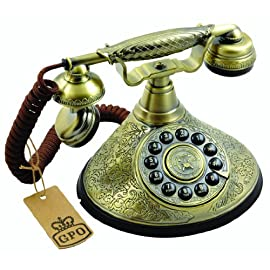 The Duchess Telephone, Vintage Ornate Design Old Fashioned GPO Telephone, ProTelx