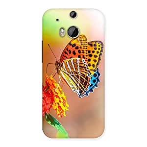 Special Queen Butterfly Back Case Cover for HTC One M8