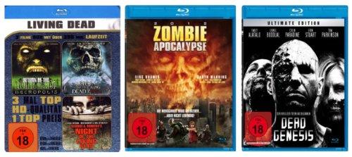 ZOMBIE Blu-ray Edition (3 Blu-rays 5 Filme)