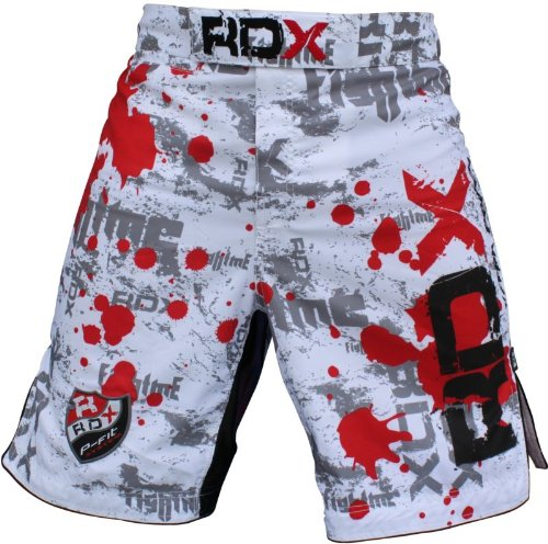 RDX Flex Gel Fight Shorts UFC MMA Cage Grappling , Medium (31