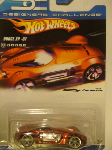 Hot Wheels Designer's Challenge Issue Series: Dodge XP-07 Red Scattered Chrome 1/64 2007 - 1
