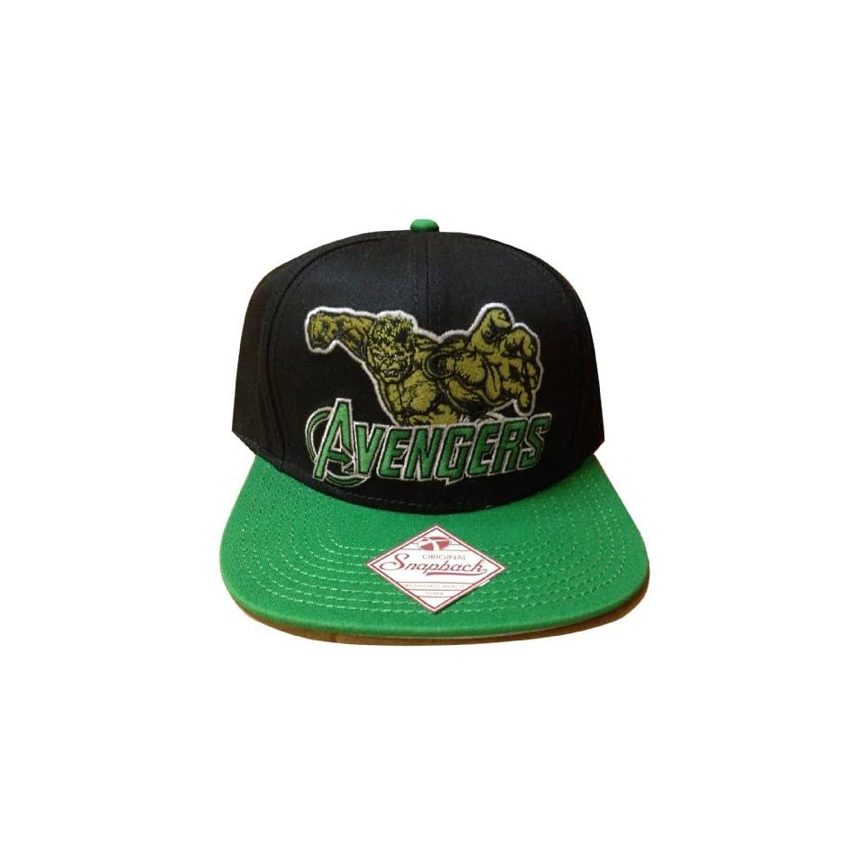 c3a68fe2a Marvel Comics the Incredible Hulk Avengers Movie Snapback Hat Cap ...