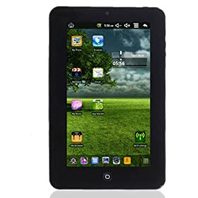 M009g 7 Inch Google Android 2.2 Via8650 800mhz Tablet Pc Black