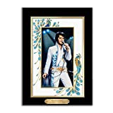 Elvis Presley Canvas Print Wall Decor: Peacock Perfection by The Bradford Exchange
