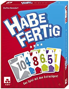 Nürnberger-Spielkarten 4026 - Kartenspiel - Habe fertig