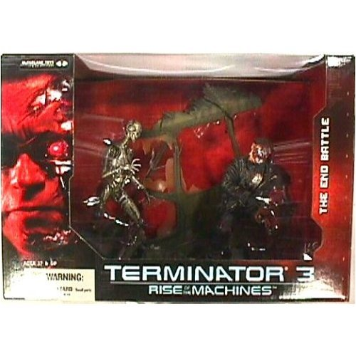 Picture of McFarlane Terminator 3 Rise of the Machines Deluxe Boxed Set Figure (B000QF4604) (McFarlane Action Figures)