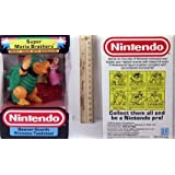 Nintendo Trophy Figure - Bowser Guards Princess Toadstool ~ Hasbro/Nintendo