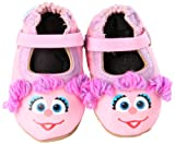 Robeez Soft Soles 3D Abby Cadabby Flat (Infant/Toddler),Prism Pink,0-6 Months (1-2 M US Infant)