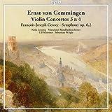 エルンスト・フォン・ゲンミンゲン:ヴァイオリン協奏曲 第3番&第4番/フランソワ=ジョセフ・ゴセック:交響曲 Op.6-2