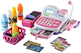 Click n Play Pretend Play Multifunctional Supermarket Toy Cash Register, Working Scanning Action and Real Calculator!