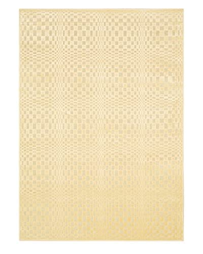 Braque Rug, Light Yellow, 5′ 3″ x 7′ 7″