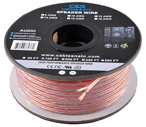 C E CNE62270 100 Feet 12AWG Enhanced Loud Oxygen Free Copper