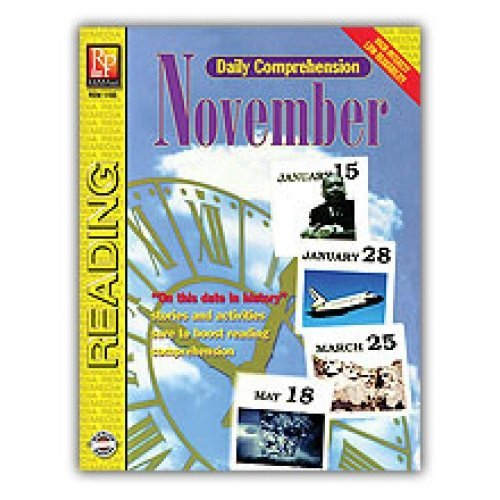 Remedia Publications Daily Comprehension - November - 1