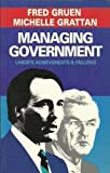 img - for Managing government: Labor's achievements & failures book / textbook / text book