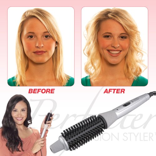 Perfecter Fusion Styler with Travel Bag, Detangle Brush and Styling